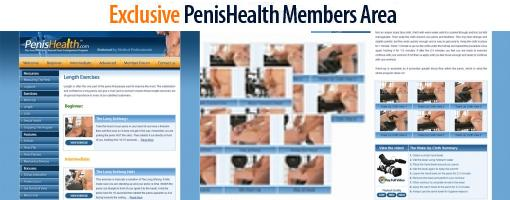 Penis health exercise program
